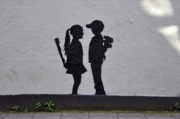 Изображение 27. Бристоль. Художественное граффити.. Изображение № 29.