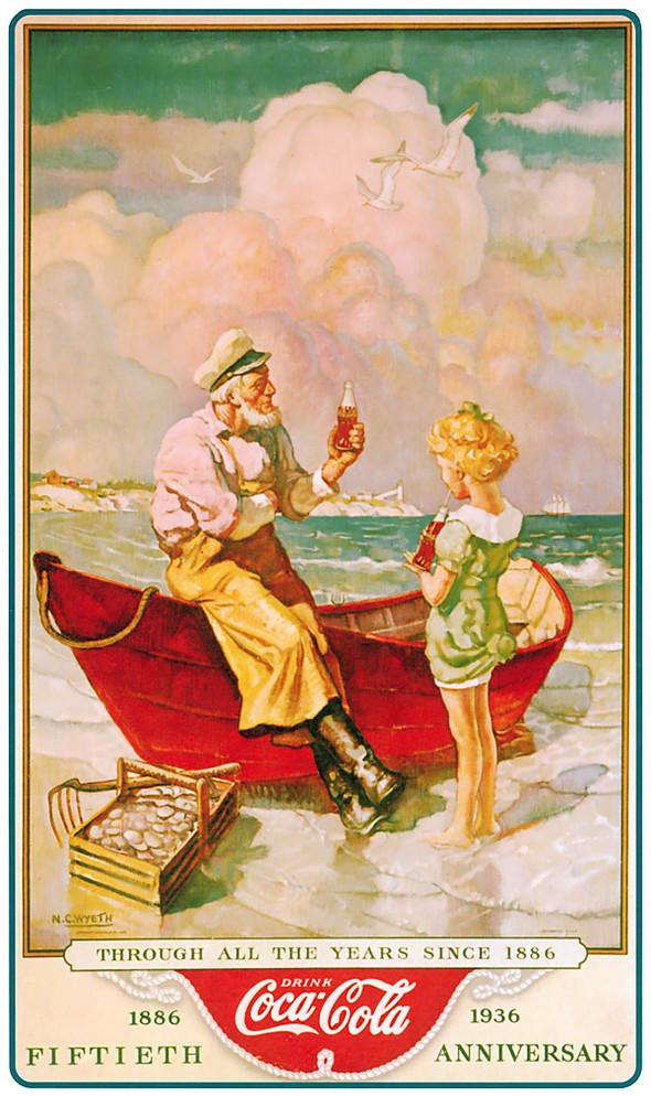Рекламные плакаты coca-cola. Изображение № 10.