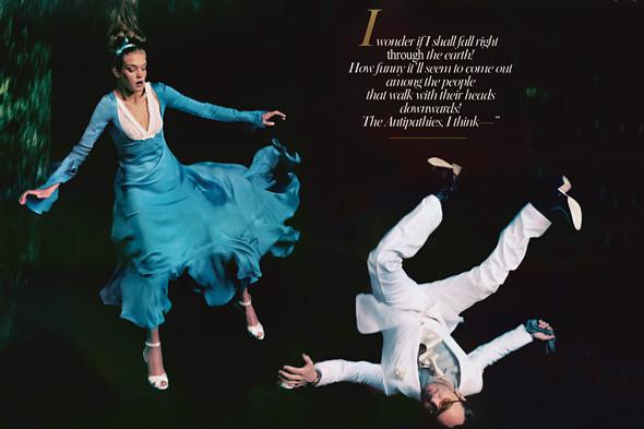 Архивная съемка: Наталья Водянова для американского Vogue 2003. Изображение № 3.