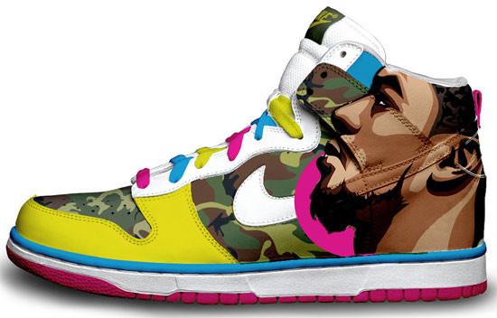 Метаморфозы белых кроссовок Nike. Изображение № 10.