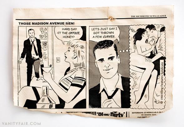 Комикс, давший жизнь сериалу Mad Men. Изображение № 2.