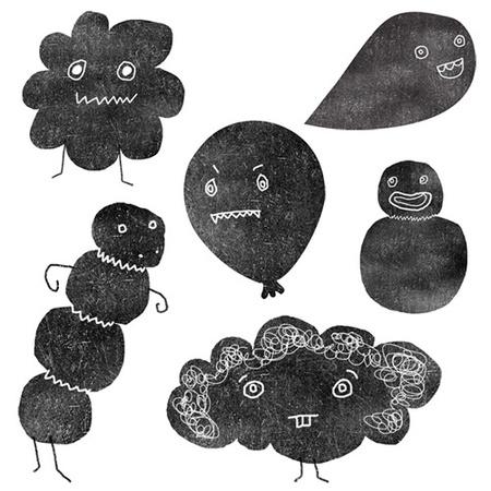 Милые уродцы виллюстрациях Sandra Juto. Изображение № 9.