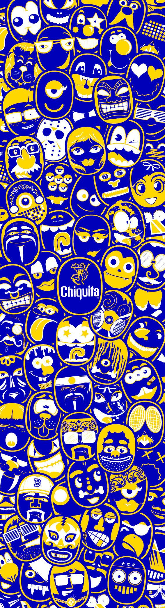 Chiquita: каждому банану - свое лицо. Изображение № 6.