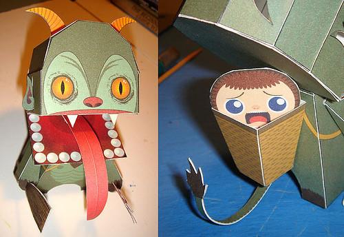Paper Toys. Изображение № 9.