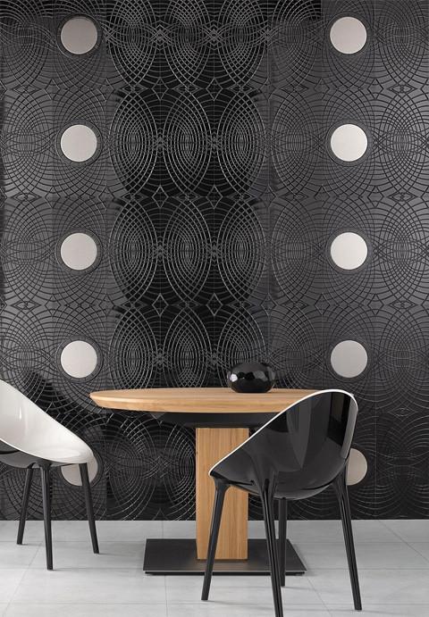 Фешенебельная настенная плитка Boudoir от Villeroy & Bosh. Изображение № 2.