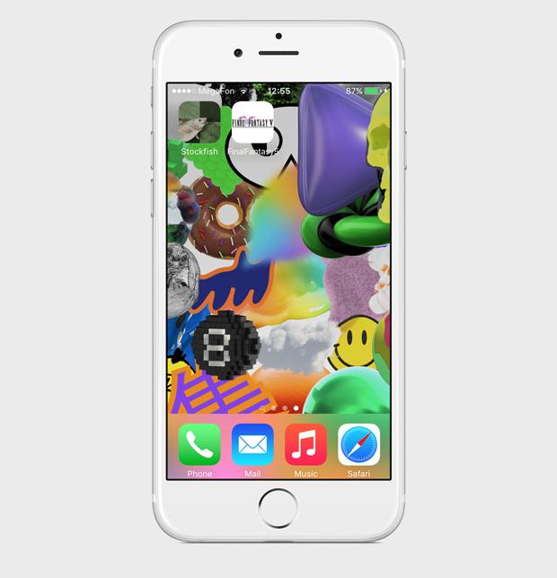 Экран моего смартфона: дизайнер Роман Любимов. Изображение № 5.