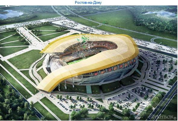 Архитектурные амбиции России для ЧМ по футболу 2018-22. Изображение № 11.