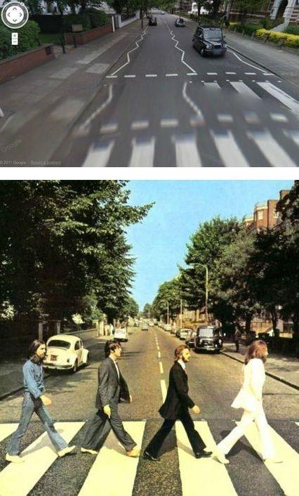 Места с обложек альбомов на Google Street View. Изображение № 3.
