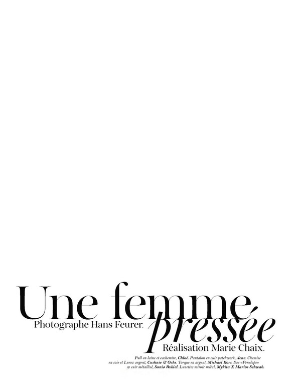 Съёмка: Джоан Смоллс для Vogue. Изображение № 1.