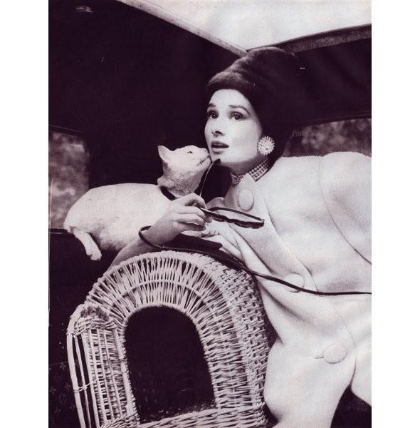 Архивная съёмка: Одри Хепберн для Harper's Bazaar, 1959. Изображение № 2.