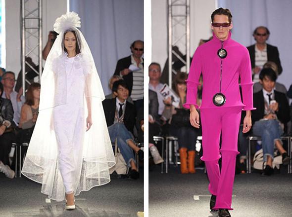 Неделя моды в Париже: первые показы. Изображение № 10.
