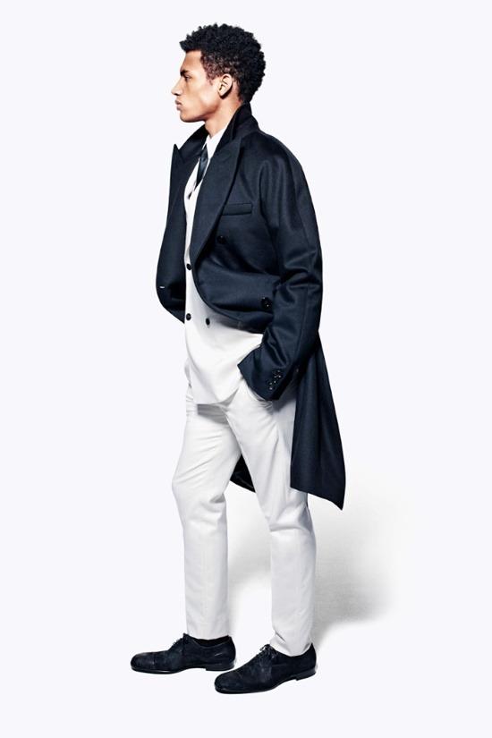 Мужские лукбуки Alexander McQueen, Comme des Garcons, Louis Vuitton и Club Monaco. Изображение № 3.
