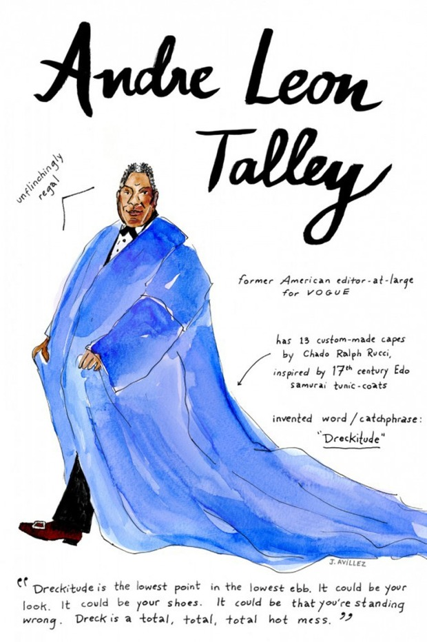 Иллюстрации икон моды от Джоаны Авильес. Изображение № 1.