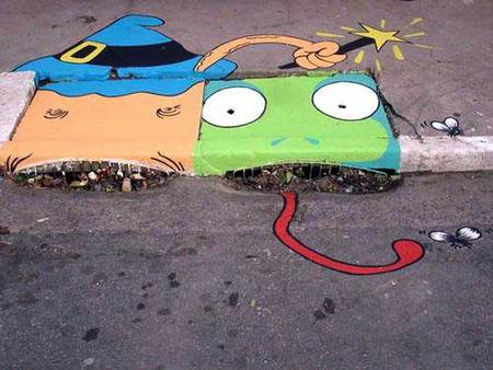 Уличные художники Сан-Пауло делают город веселее. Изображение № 10.