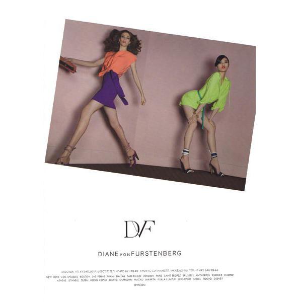 Изображение 3. Превью кампаний: Calvin Klein White Label, Diane Von Furstenberg и Isabel Marant.. Изображение № 3.