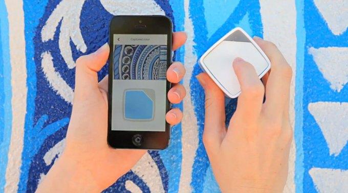 Устройство поможет сохранить понравившийся цвет при помощи смартфона. Изображение № 6.