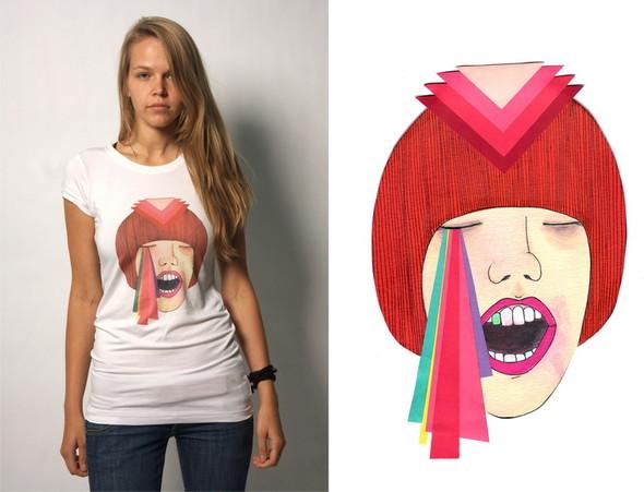 Дизайнерские футболки отT-store. Изображение № 3.