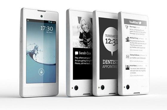 Yota выпускает телефон с двумя экранами. Изображение № 1.