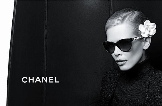 Изображение 5. Клаудия Шиффер снялась в рекламе очков Chanel.. Изображение № 5.