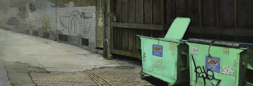 Кристофер Хофф. Рисует эти странные улицы. Изображение № 7.