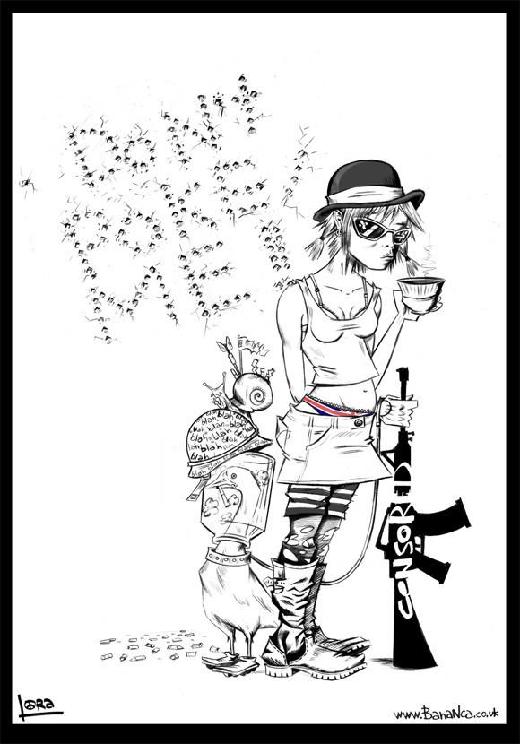 Lora Zombie. Изображение № 4.