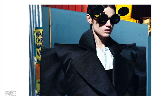 Новые съемки Dazed & Confused, Vogue, i-D и W Magazine. Изображение № 3.