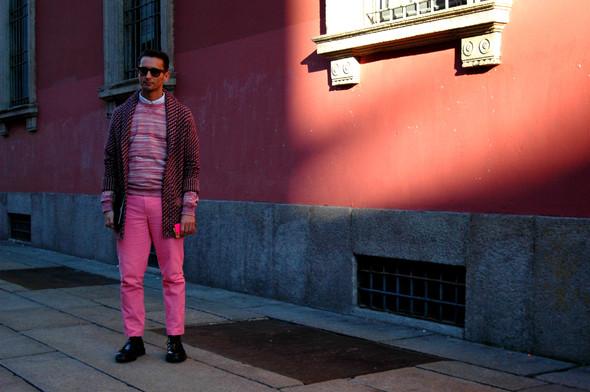 Milan Fashion Week. За кадром. Изображение № 21.