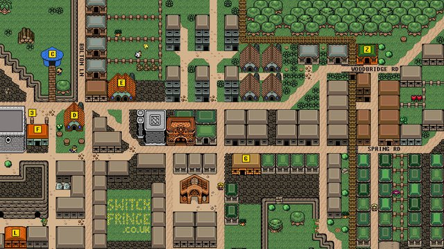 Художник представил карту английского города в духе The Legend of Zelda. Изображение № 2.