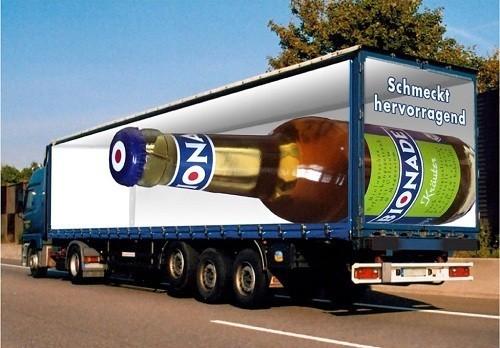 Потрясающая реклама на грузовиках. Изображение № 3.