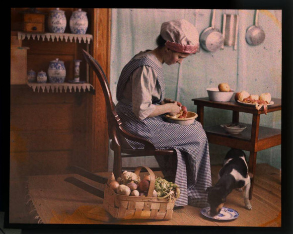 Автохром Люмьер – цветные фотографии начала XX века. Изображение № 35.