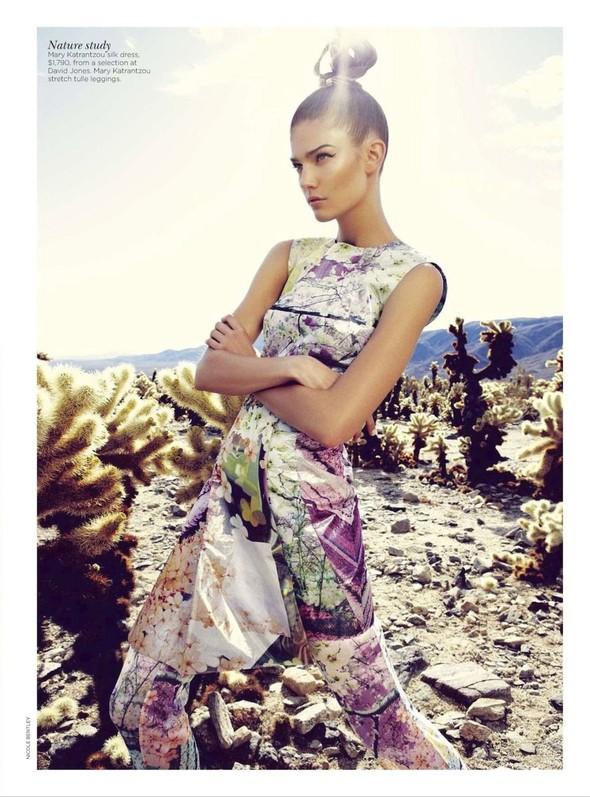 Съёмка: Марло Хорст и Кендра Спирс для австралийского Vogue. Изображение № 16.