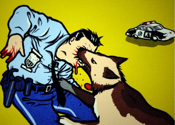 К доске: 10 художников-скейтбордистов. Изображение №93.
