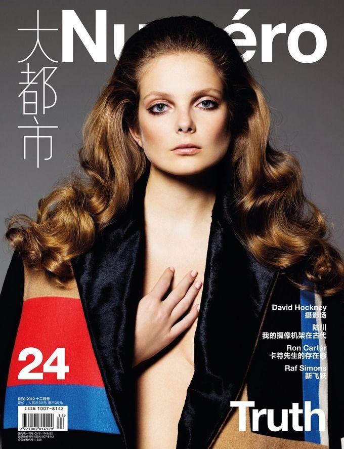 Вышли новые обложки Numero, Muse, Elle и других журналов. Изображение № 2.