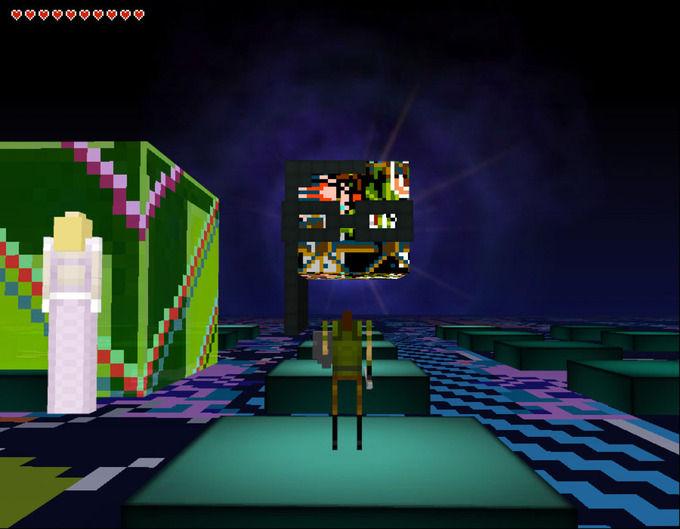 Скриллекс представил 3D-квест в духе Legend Of Zelda. Изображение №6.