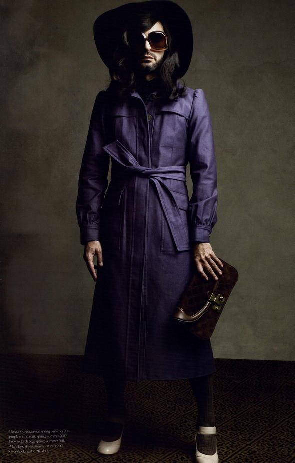 Изображение 80. Съемки: Harper's Bazaar, Industrie, Vogue и другие.. Изображение № 13.