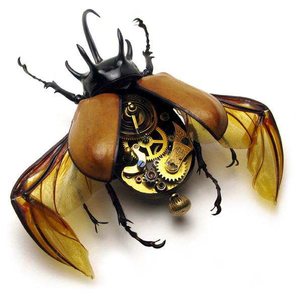 Стимпанк насекомые от Mike Libby. Изображение № 14.