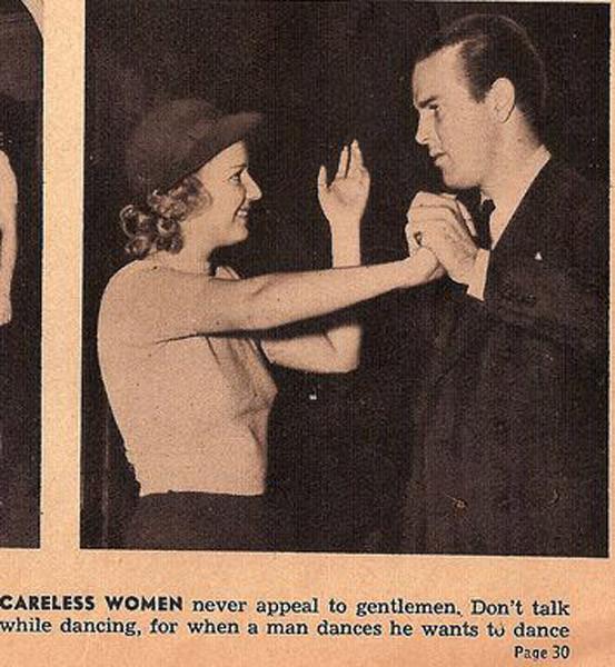 Как завоевать мужчину, вырезки из журнала 1938 года. Изображение № 5.