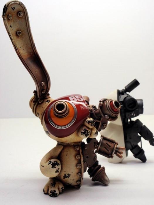 Фантастические скульптуры животных Мишихиро Матсуока. Изображение № 6.