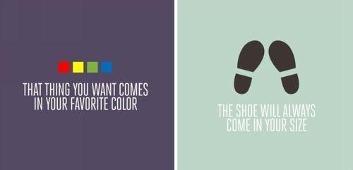 Вещь, которую ты хочешь, всегда любимого цвета. Обувь всегда твоего размера. Изображение № 8.