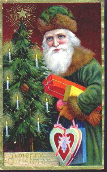 Новогодняя ирождественская открытка. Изображение № 7.