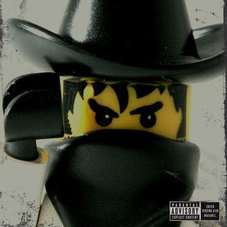 20 Обложек хип-хоп альбомов изLego. Изображение № 2.