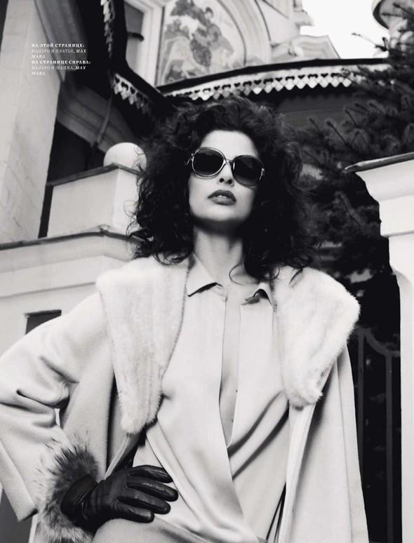 Съёмка: Фернанда Прада для Harper's Bazaar. Изображение № 4.