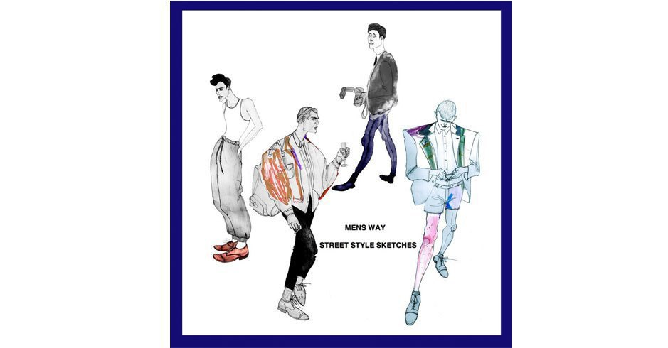 Зарисовки уличного стиля посетителей London Fashion Week. Изображение № 18.