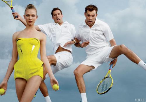 Быстрее, выше, сильнее: Модные съемки, вдохновленные спортом. Изображение №88.