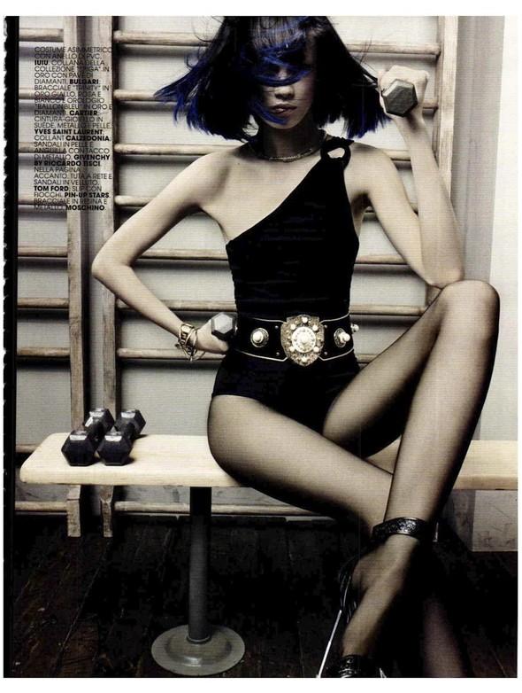 Съемки: Vogue, Numero, Tush и другие. Изображение №49.