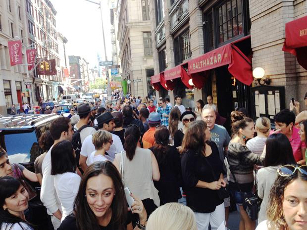 Дневник модели: Эксклюзив для Proenza Schouler на Нью-Йоркской неделе моды. Изображение № 8.