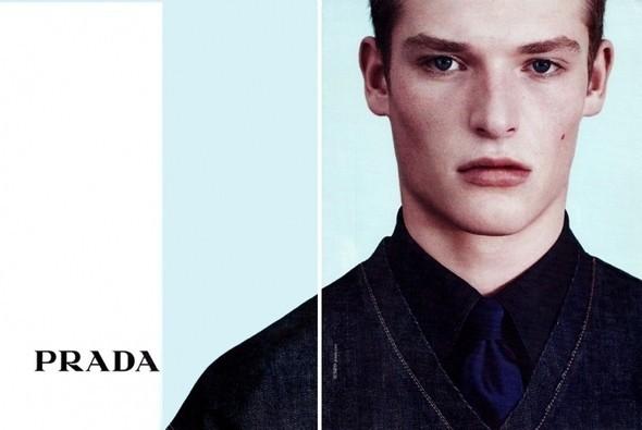 Изображение 9. Превью мужских рекламных кампаний: Prada, Dior и другие.. Изображение № 1.