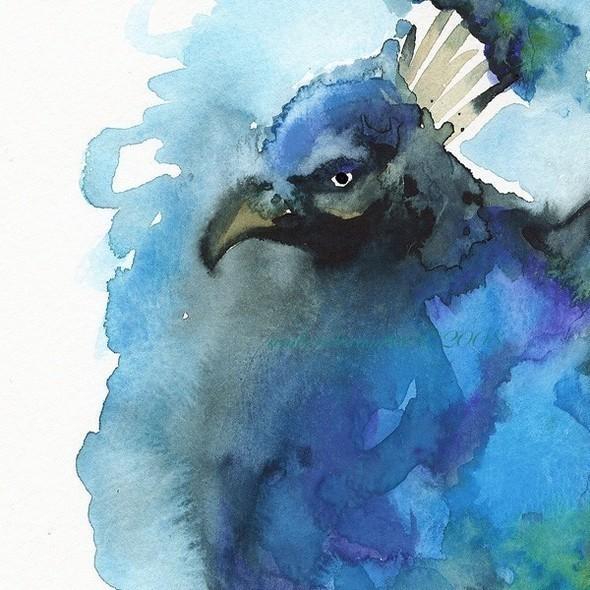 Изображение 32. Amber Alexander - животные, сияющие акварелью.. Изображение № 32.