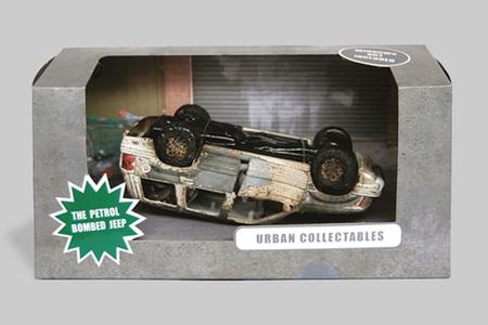 Индивидуально сожженые коллекционные модели автомобилей. Изображение № 1.