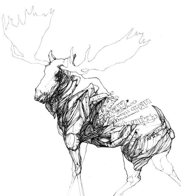 Креатив виллюстрациях отChow Martin. Изображение № 3.